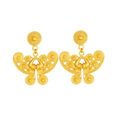 Aretes de colgar - Dangling earrings