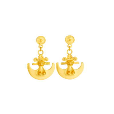 Aretes de colgar pequenos - Small dangling earrings