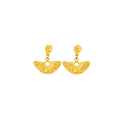 Aretes pequenos de nariguera - Precolumbian nose piece small earrings