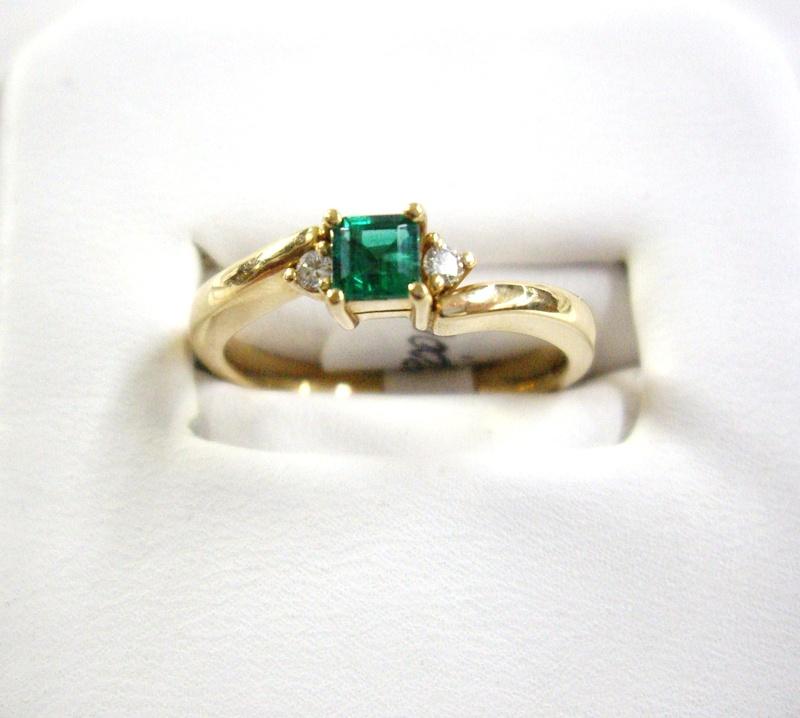 Anillo de esmeralda - Emerald ring